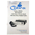 Manual original radio px cb radio Cobra 148 GTL 001