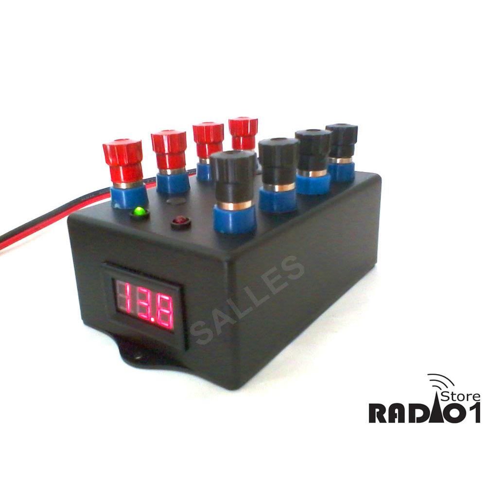 Régua circuito proteção