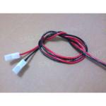 cabo rabicho chicote para bateria selada 12V sistema alarme CFTV cerca elétrica 02