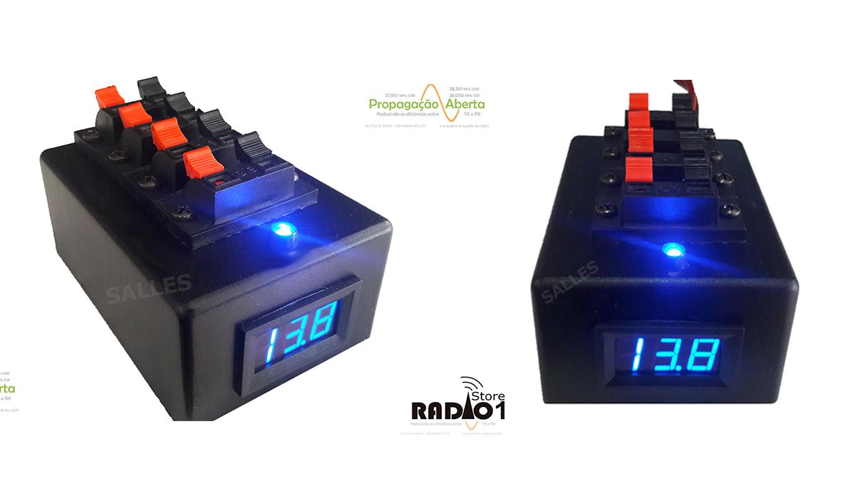 regua distribuição alimentação benjamin fonte radioamador radio px propagação aberta 011