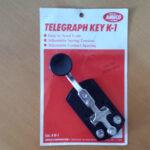 Manipualdor Batedor Pica Pau de metal CW Key telegrafo telegrafia AMECO Modelo K1 01