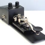 Manipulador CW morse telegrafo telegrafia com oscilador MFJ Original 02