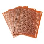 Placa Fenolite Pcb Ilhada 5x7 Perfurada Circuito Impresso propagação aberta 1