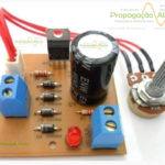kit 02 para montar montagem fonte ajustável regulável bancada llm317 propagação aberta 11
