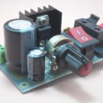 kit para montar montagem fonte ajustável regulável bancada llm317 2n5551 propagação aberta 2