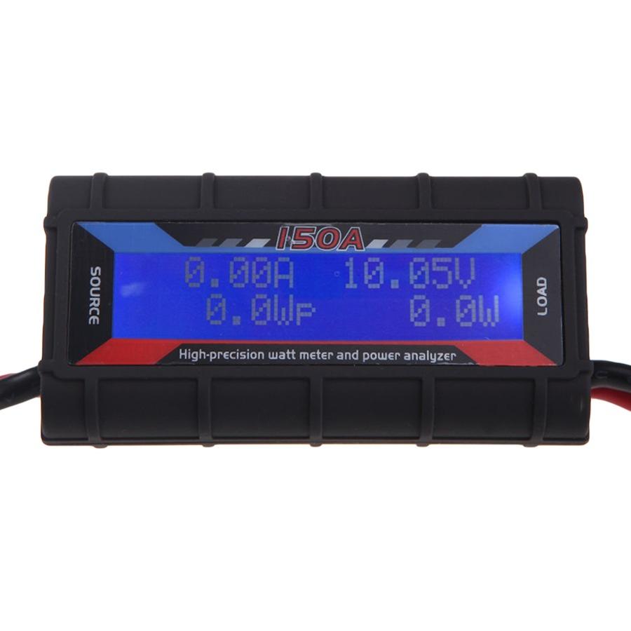 Medidor Watimetro Voltimetro Amperimetro LCD Iluminado 0V 60V x 150A
