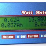medidor wattimetro-voltimetro-amperimetro-lcd-0v-60v-100A-radioamador radio amador px propagação aberta 1